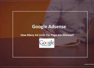 Adsense Ads Allowed Per Page