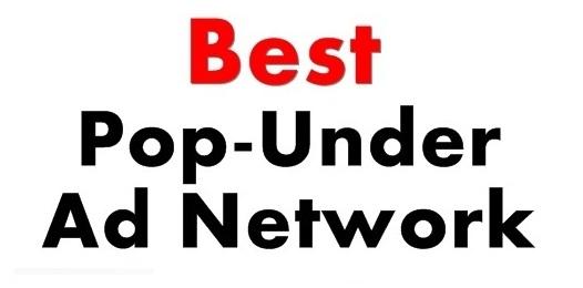 Best Pop-Under Ad Network