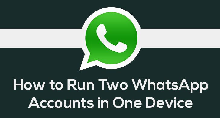 WhatsApp FAQ - Using one WhatsApp account on