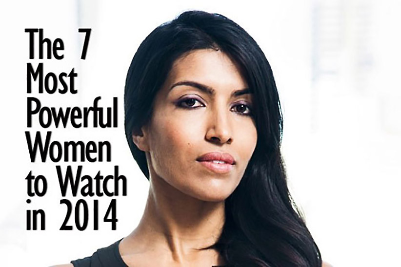 Top 8 Business Women Of India In 2014
