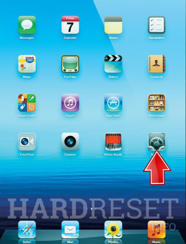 How to Hard Reset APPLE iPad Air